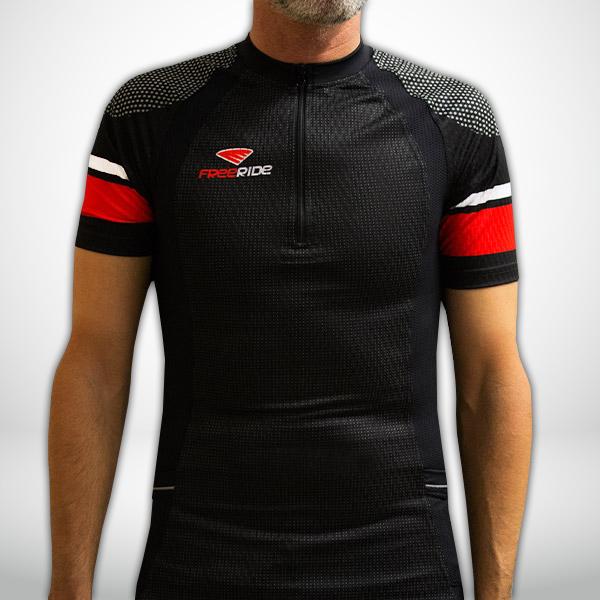 Ropa de trail personalizada de Viator: Camiseta manga corta compresiva trail running personalizada de Viator.