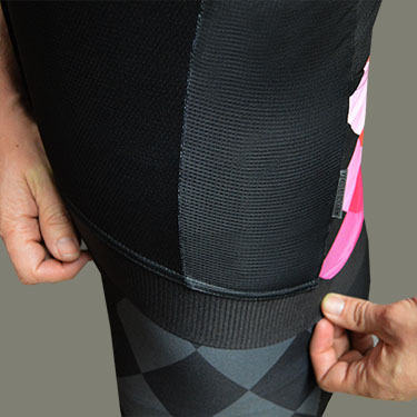 Cintura elástica / Rejilla microcool